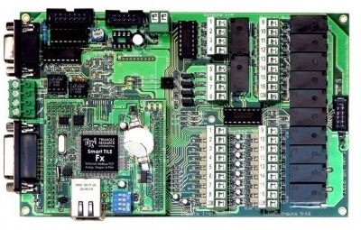 TRi-Triangle Research Int'l Super PLC Fx1616BA 16DI, 16DO, 8AI, 4AO, 2xRS-485, RS-232,  IR Port, TCP/IP. PLC w/ Flaoting Point.